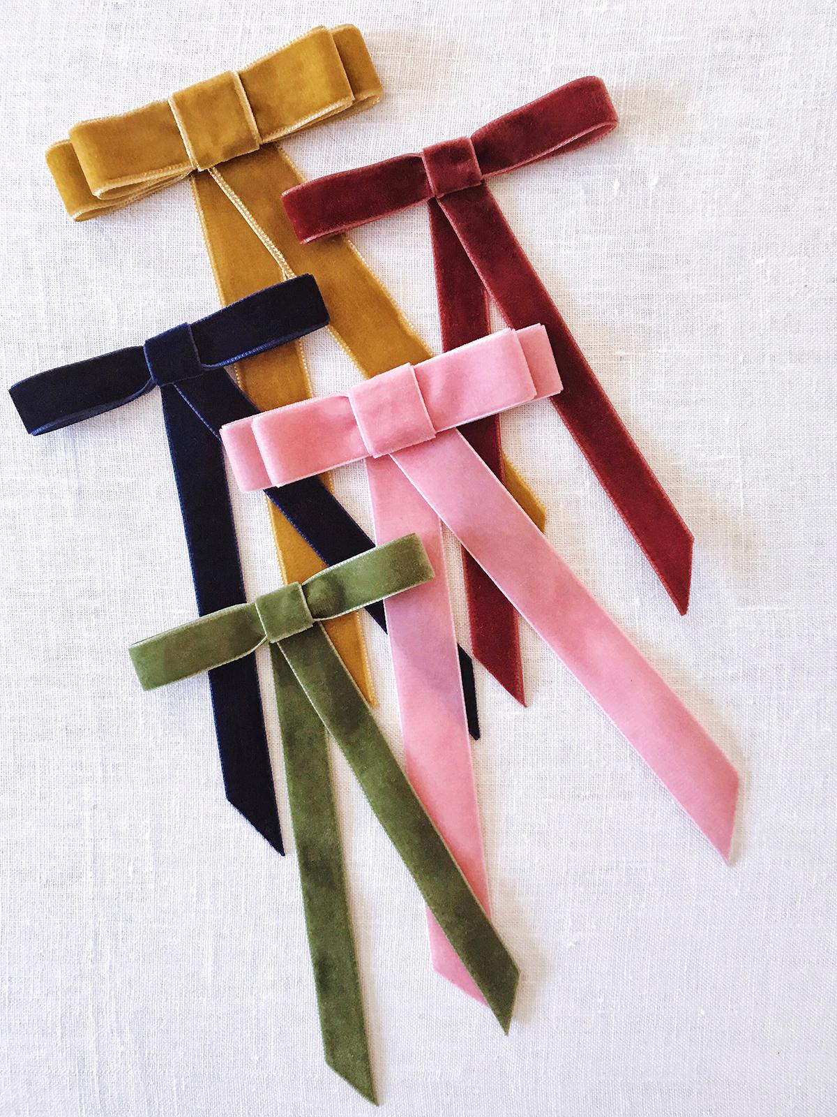 Uncategorized Make Ribbon Bow diy velvet ribbon bow barrette