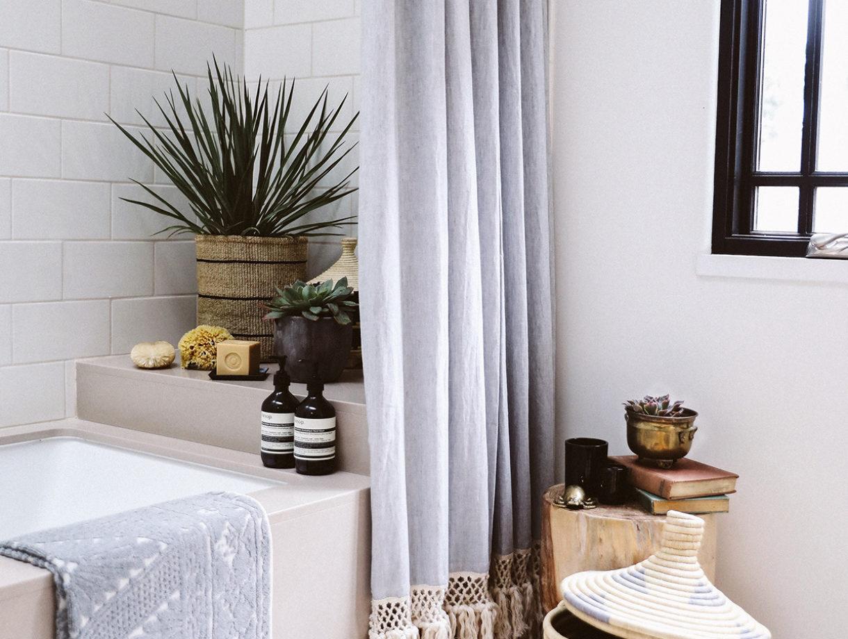 DIY Extra Long Shower Curtain – Honestly WTF