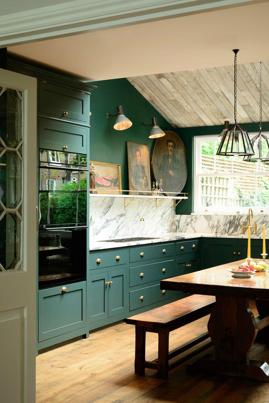 Green Kitchens Honestly Wtf
