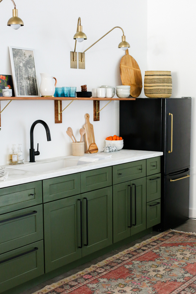 exciting green kitchens white cabinets | Green Kitchens – Honestly WTF