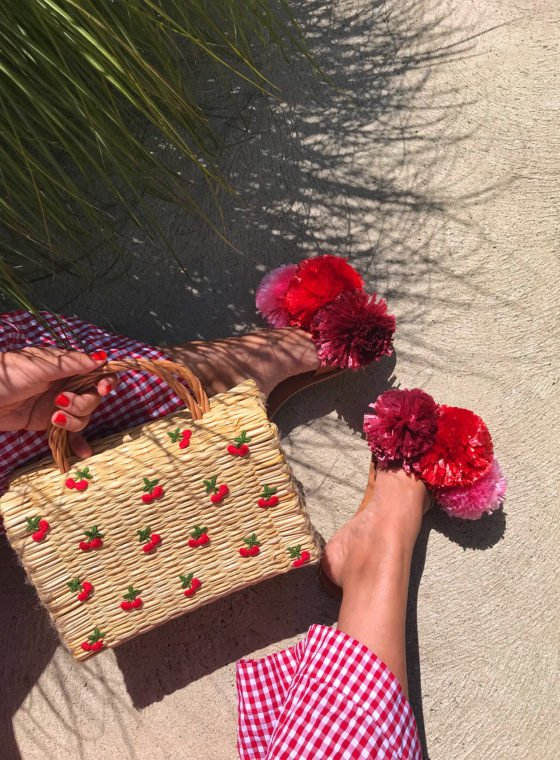 DIY Fruit Straw Bag