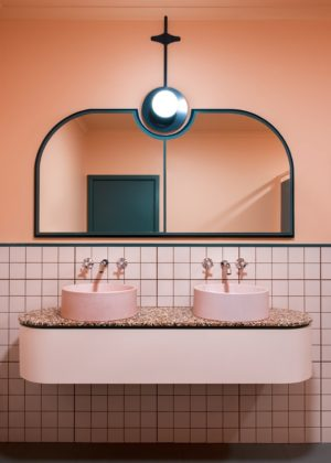 Consider This: A Pink Bathroom