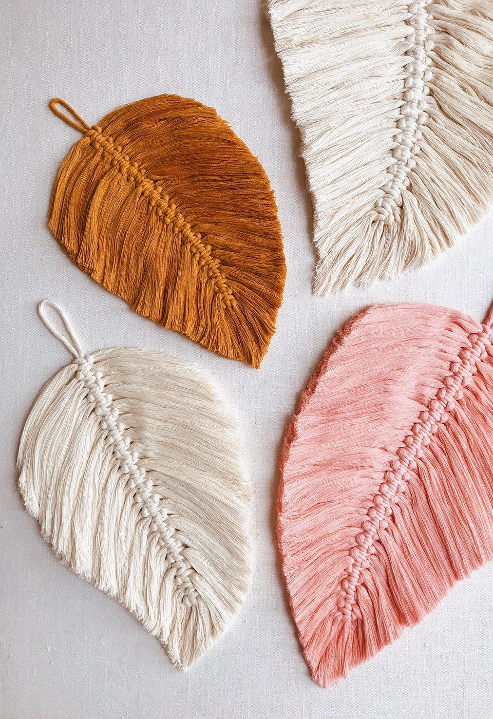 Diy Macrame Feathers Honestly Wtf