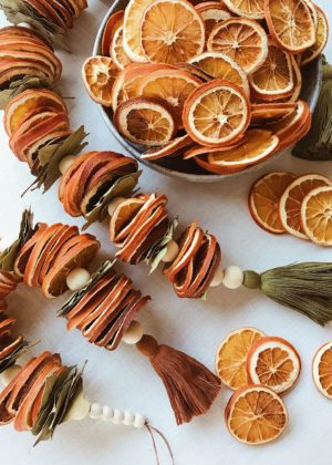 DIY Dried Citrus Garlands