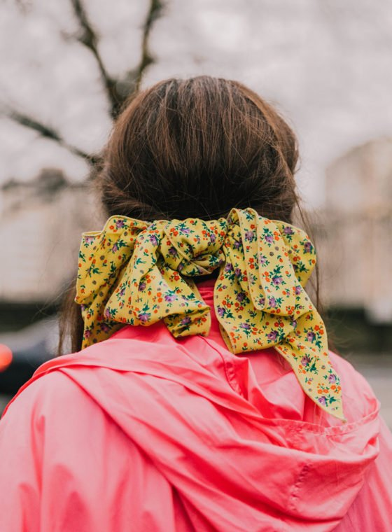 Silk Scarves in Winter