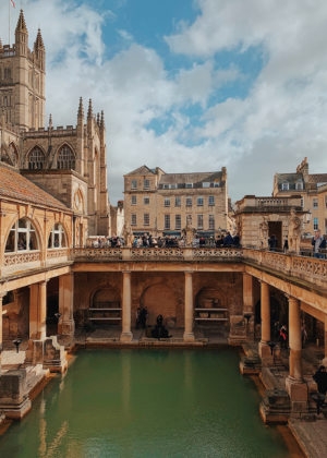 Visiting Bath, England