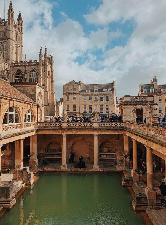 Visiting Bath, England