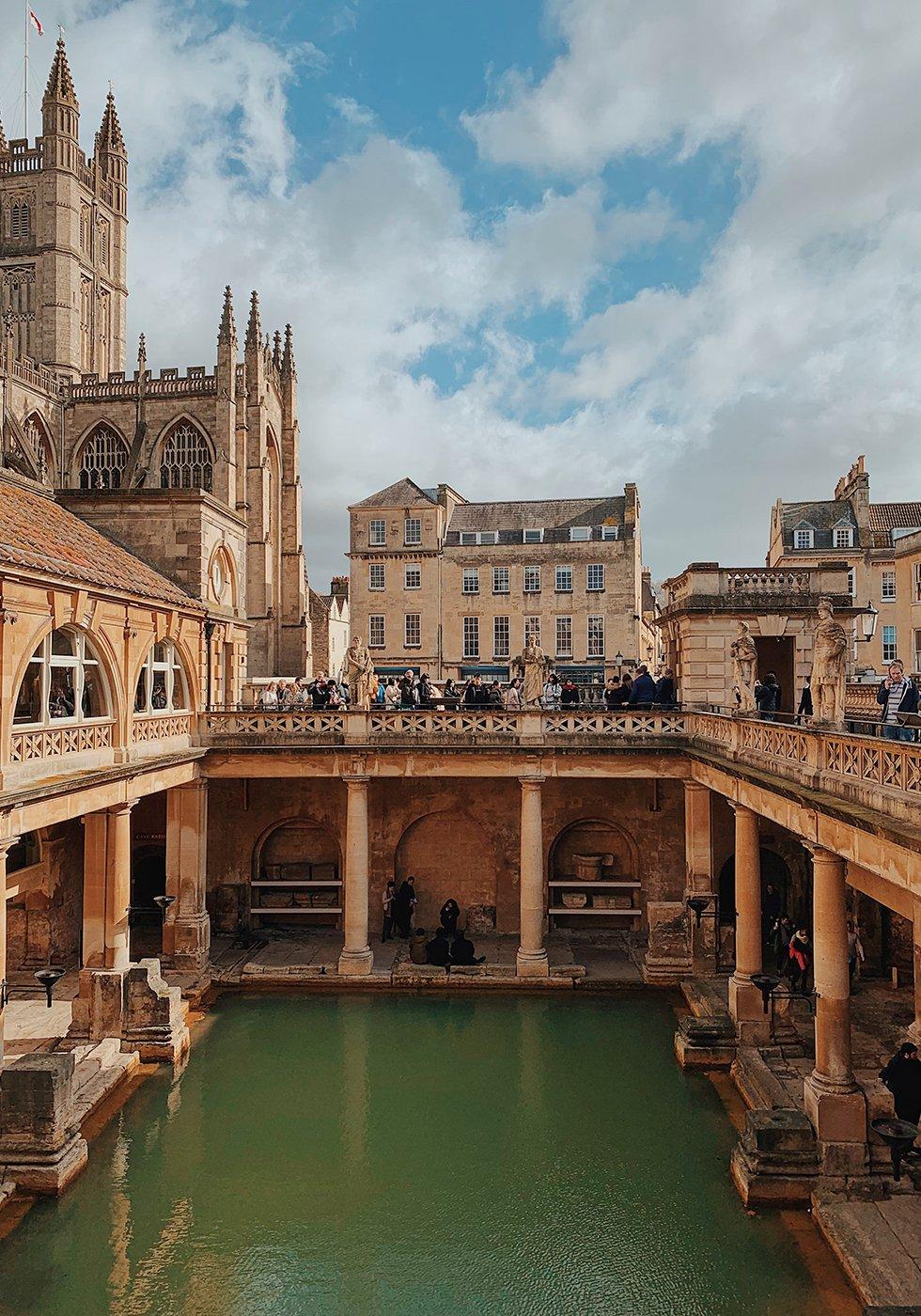 Visiting Bath, England - Honestly WTF
