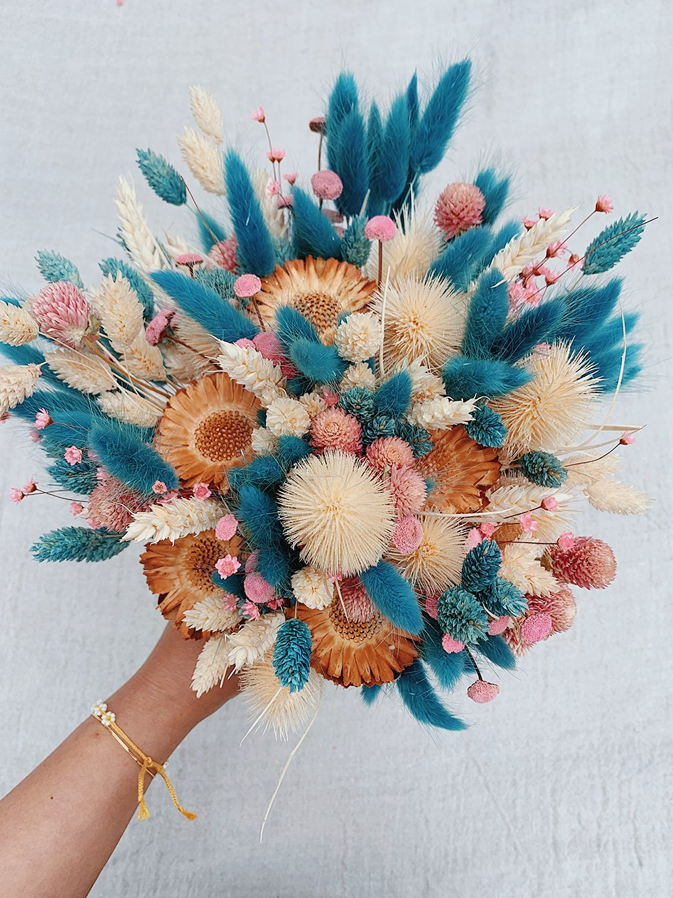 Diy Dried Flower Bouquet Honestly Wtf