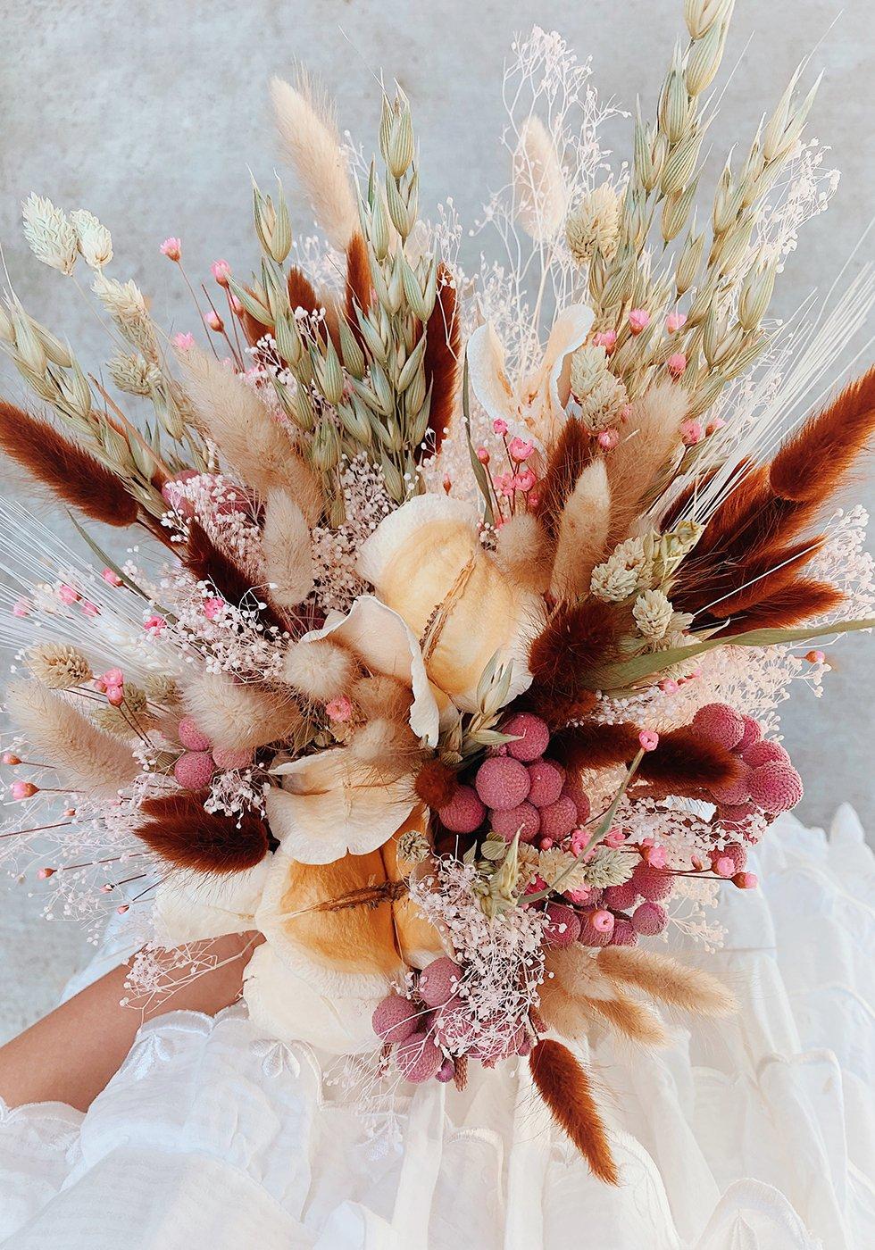 Diy Dried Flower Bouquet Honestly Wtf