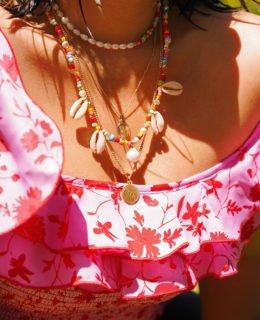 DIY Beaded Summer Necklaces