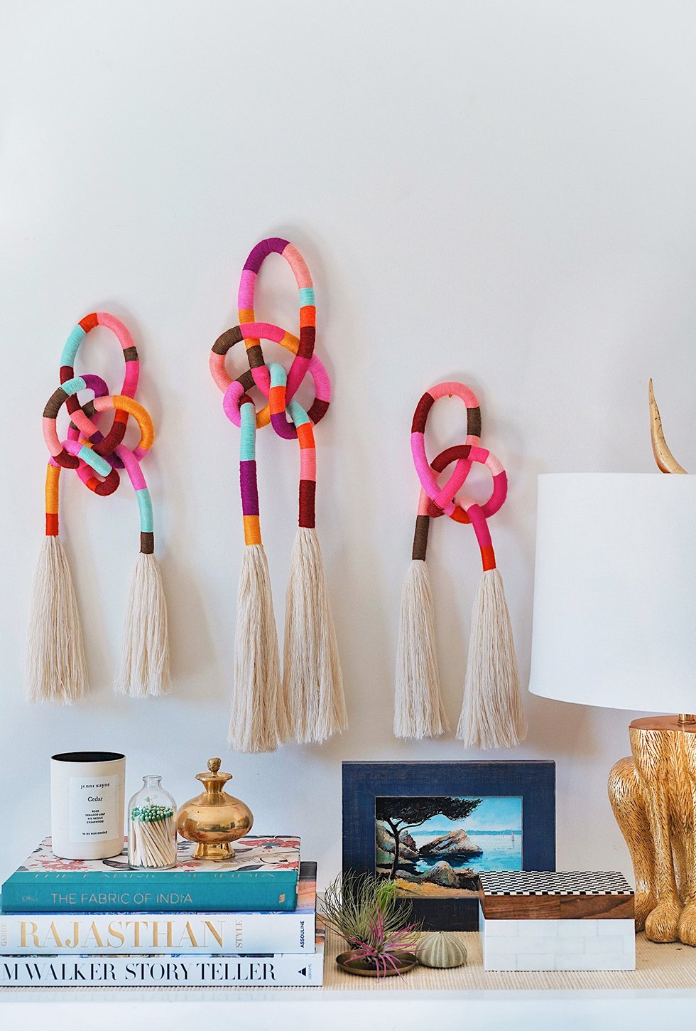 Diy Wrapped Knotted Wall Hanging Honestly Wtf