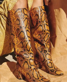 Currently Crushing On: Snakeskin Boots