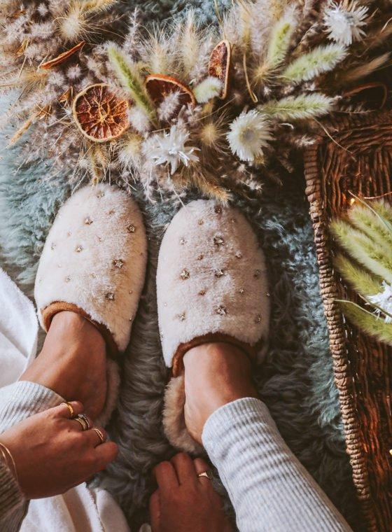 DIY Embellished Slippers, 3 Ways