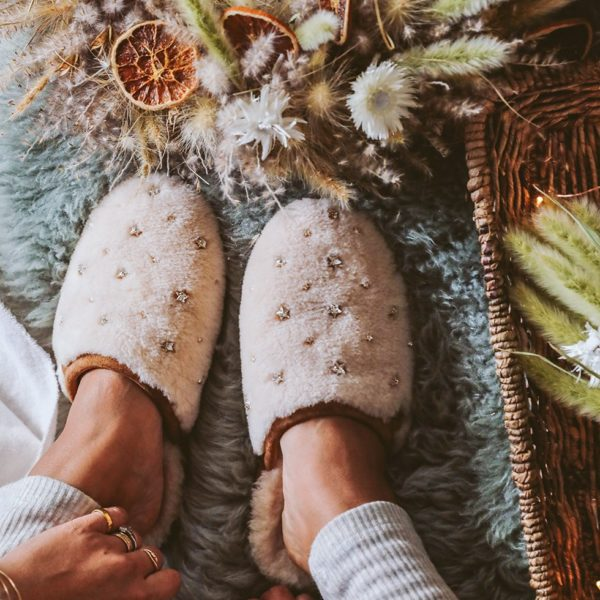 DIY Embellished Slippers, 3 Ways