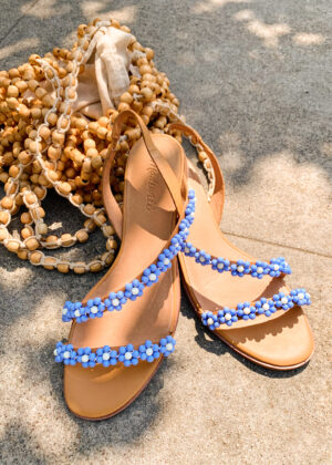 DIY Daisy Chain Sandals