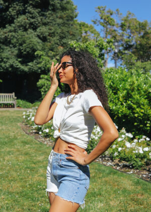 DIY Denim Shorts 2 Ways
