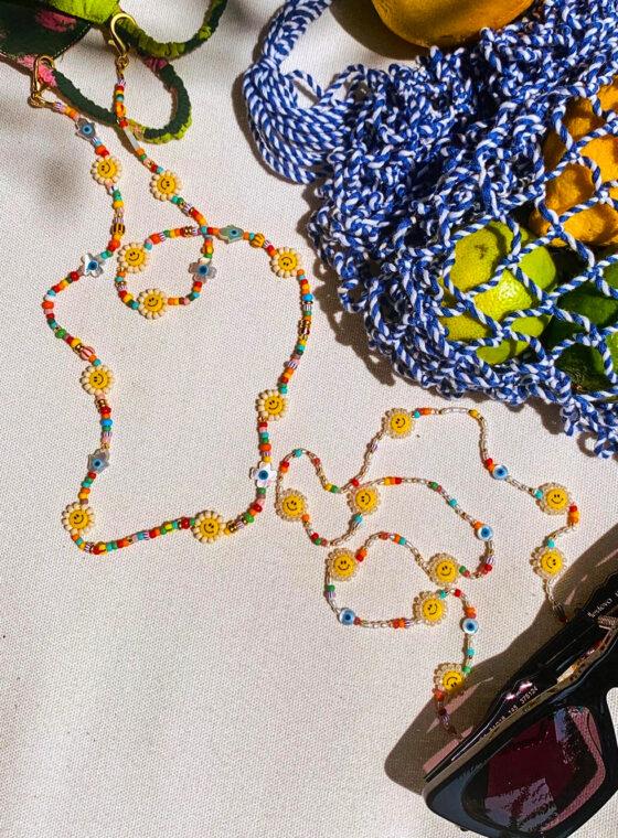 DIY Sunglass & Mask Chain