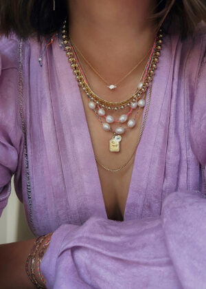 AGJ x HWTF: DIY Going For Baroque Pearl Necklace
