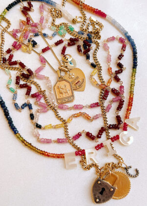 DIY Gemstone Chain