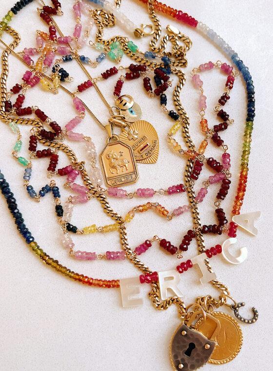 DIY Gemstone Chain