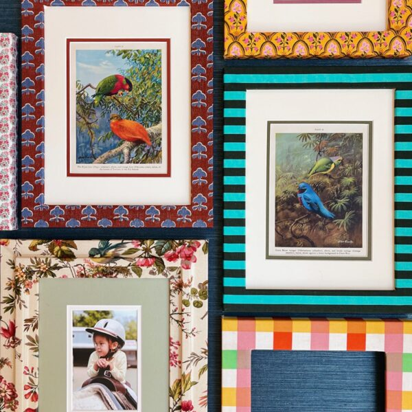 DIY Upholstered Frames